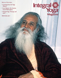 Swami Satchidananda on the cover of Integral Yoga Magazine
