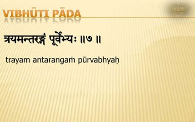 Vibhuti Pada: Entering the Oneness of Time